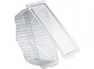 BCH778 - Triangle sandwich extra large en PET - Transparent, 185x90x78mm
