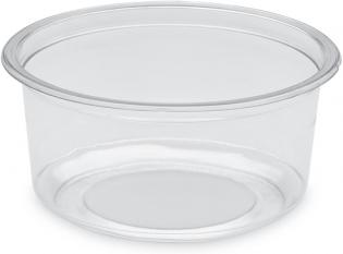 BDT12n - Pot Gourmet en PET - Transparent, 350ml, ø118 h 58mm
