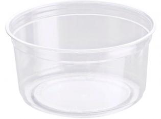 BDT12 - Pot Déli Gourmet en rPET - Transparent, 350ml, ø118 h 58mm