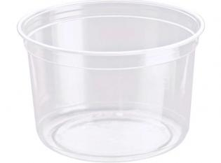 BDT16 - Pot Déli Gourmet en rPET - Transparent, 470ml, ø118 h 75mm