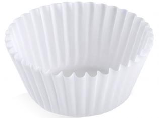 BP5010 - Caissette ronde en Papier - Blanc, 70ml, 50x27mm