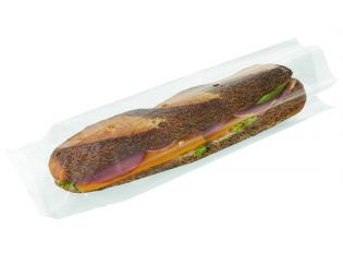 Visuel du produit MPSE127 - Sac sandwich en cellophane en Cellophane - Transparent, 100x340x20mm